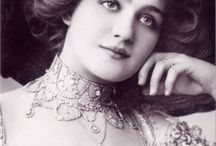 5) The beautiful actress Lily Elsie / Lily Elsie (8 April 1886 - 16 December 1962), was a popular English actress and singer.