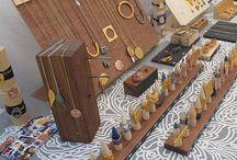 handmade display & stand