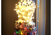 Christmas Decorations With A Twist  / No boring old Christmas Trees for me.