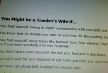 Being a trucker's wife