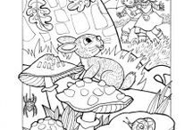 coloring hares and rabbits