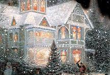 Рождественские дома