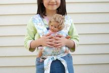 Quilting:  American doll