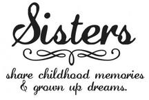 Sista love, best friends forever!