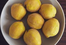 Quinces / Cooking with quinces.