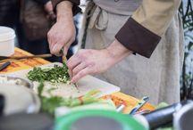 Montevarchi- ethic street festival- show cooking di Gabriele Palloni