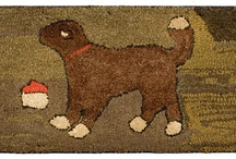 Primitive Hooked Rugs / by Betty Dekat