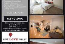 Philadelphia Real Estate Listings / My most current listings on the housing market in the Greater Philadelphia area!