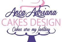 ANCA CAKES DESIGN / Sugar decor,gum paste flowers,marzipan,icing,