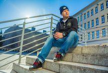 Kobra x Diamante / Kobra - poznański raper, autor albumu 'Golden Era' w sesji dla naszej marki.