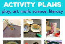 Monthly activity for kids