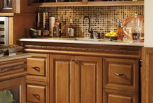 Wet Bar Ideas / A wet bar can be a fun and functional addition to your entertainment area. #prescottkitchens www.prescottkitchens.com www.PrescottKitchens.com