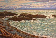 Jeffrey J Boron Studio Work / A selection of studio paintings by Jeffrey J Boron