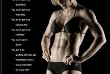 The Body achieves what the mind believes... / Fitness and motivation...