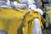 Kunst / Dette er kunst jeg blir inspirert av. Uttrykkene, teknikkene, fargene.