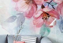 Tapety ręcznie malowane