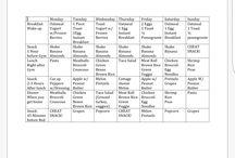 Personal Trainer (week by week)