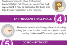 Infographics - Diet and Nutrition / Infographics based on the DietvsDisease articles and videos