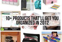organizing / by Keeshia Demers
