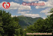 Monti della Calabria / Le belle montagne del territorio calabrese