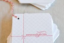 gift tags & wraps