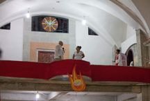 vitral del Espiritu Santo