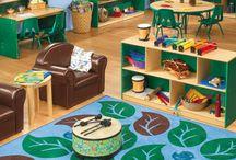 Przedszkola Montessori - wnętrza