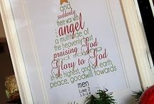 Holiday Ideas- Christmas chalkboard art & more