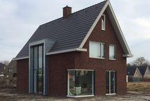 Huis rode steen
