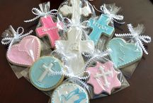 Christening/religious cookies / by Erin Brankowitz