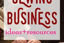 Sewing Business Ideas / Sewing for profit
