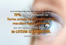 Degenerescenta maculara / Terapia ortomoleculara in degenerescenta maculara