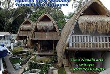 Uma Nandhi Ubud naturall cottage.