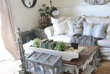 living room decorating / by Dodie Griffin