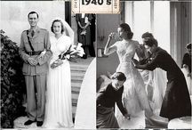 1940s and 1950's Weddings