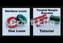 Rainbow loom rubber band loom / by J Raymond