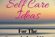 Self-care for Busy Moms / self care for moms, simple tips, ideas for at home mothers, working moms and moms that work at home