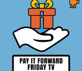 Life on Fire - Pay it Forward Friday / Happy to be a part of this community. And we are giving back...