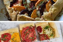 Savoury Pies / Galettes