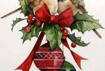 Karácsonyi  kèpeslapok
