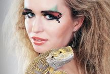 girls with reptiles