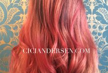 Coral Hair Colour