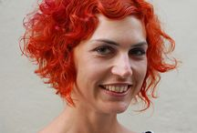 Red hair, red hairstyles / Board of red hairstyles, all styles, long, medium, short hair all red