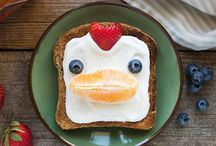 Toast Tuesday / Fun food art on toast - perfect for the kids or young at heart! / by Food for Life Baking Co.