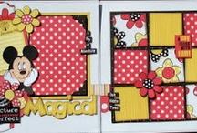 Disney Papercrafting / Disney scrapbook pages