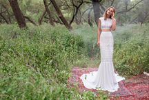 crop top wedding dress שמלת כלה חולצת בטן