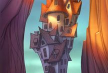 Illustrations- Houses/ Buildings