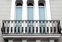 Balustrades / Cast Iron and Cast Aluminium Balustrades