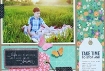 scrapbooking 8 1/2 by 11 / by Tammey Tilton