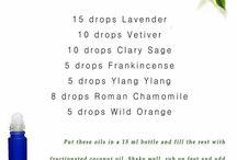Essential Oils -- Roller Bottle Blends